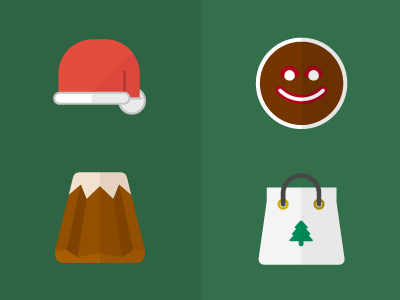 Christmas Flat Icons vector icon icons flat flat icons free download christmas natale icon set