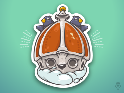 La Cupola // The Dome illustrator firenze illustration character vector stickermule italy