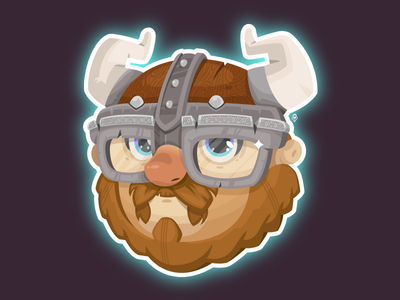 Biagio warrior character viking friend illustration vector