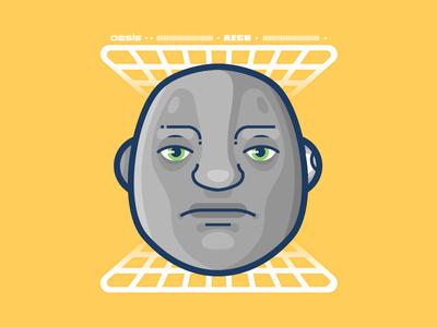 Aech illustrator movie nerd vr vector aech illustration readyplayerone