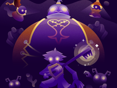 Kingdom Hearts character illustration vector games videogame square enix mickey mouse heartless goofy donald sora keyblade kingdom hearts
