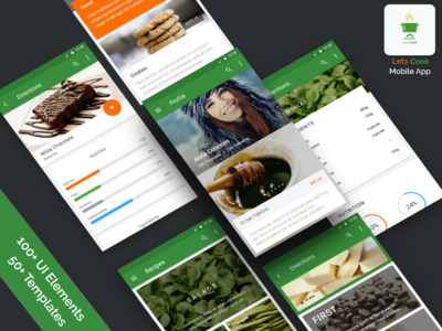 Let's Cook - (Cooking App Concept)
