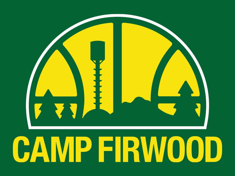 Firwood Sonics T-Shirt green white gold tree t-shirt seattle sonics mountain aqua swing vector type typography apparel