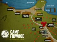 Camp Firwood Map