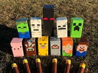 Conquer Your Lawn: Build Your Own Minecraft Kubb Game