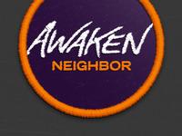 Awaken Neighbor Logo Idea
