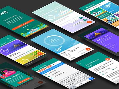 Zave Passport for iOS color ios savings material design