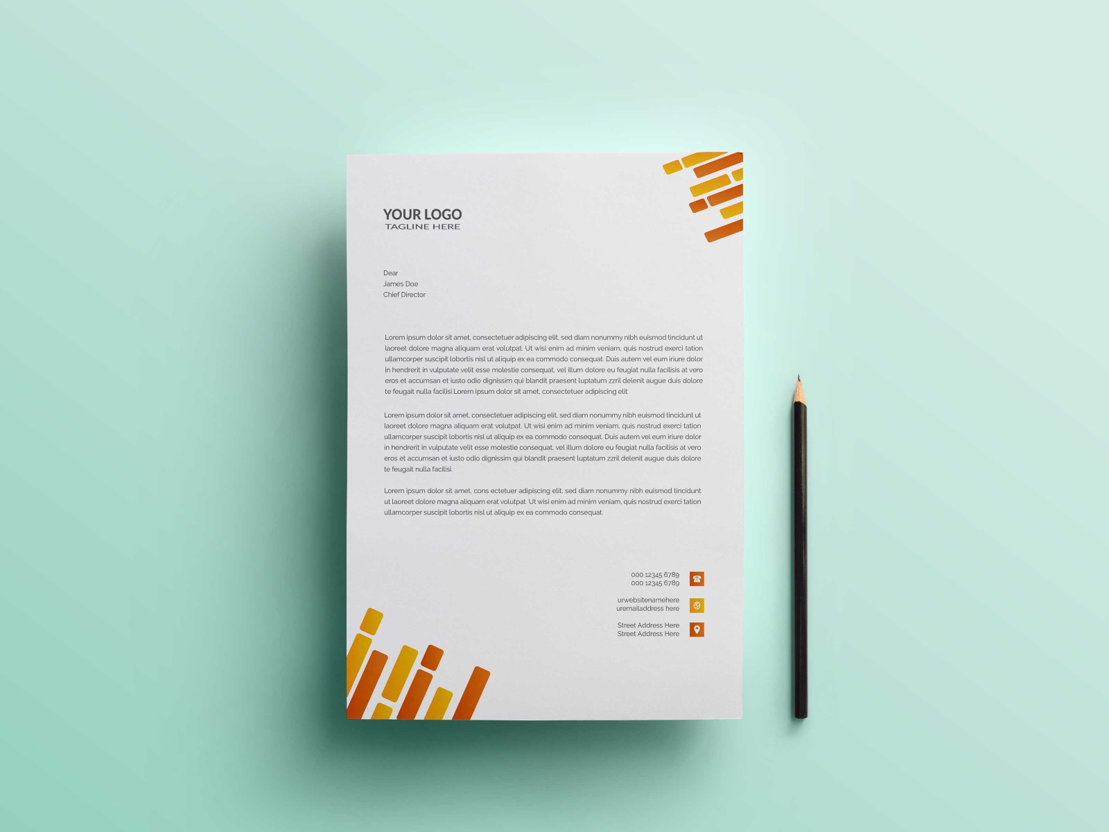 Modern Business Letterhead Design Template By Md Abubokor Siddique On Dribbble,Fashion Designer Business Card Ideas