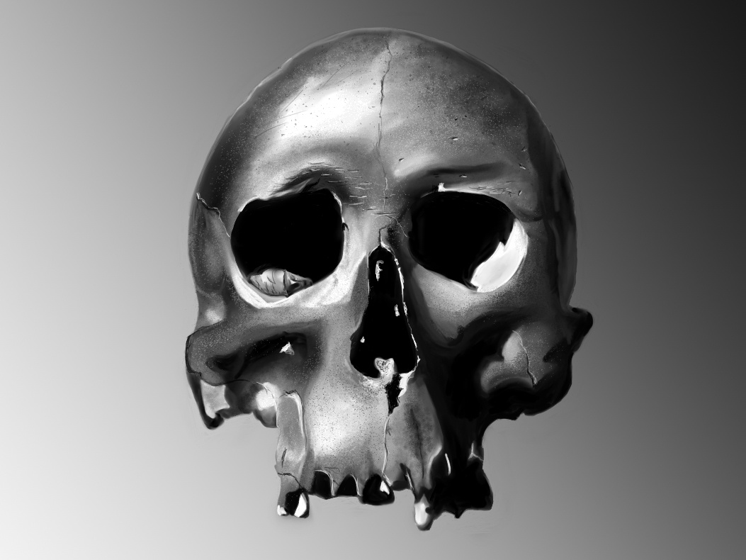 Skull Digitalart digitalart