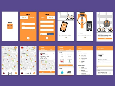 Tweel - Public Bicycle sharing App