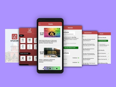 STUCOR- App Redesign