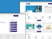 SBI Bank Website- Redesign