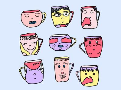 Mood Mugs Bohmine