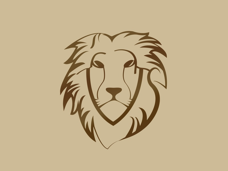 Lion Logo vector design adobe illustrator brand identity branding brand identity lion logo logo identity design branding logo design