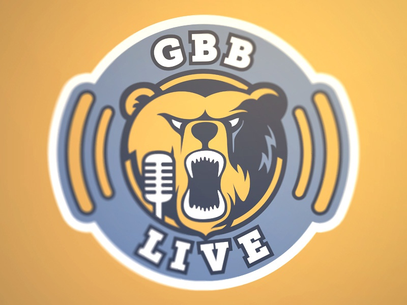 GBB Live Podcast Logo podcast logo memphis grizzlies bear sound