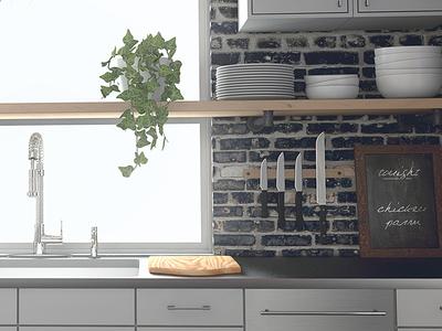 IKEA-inspired Kitchen