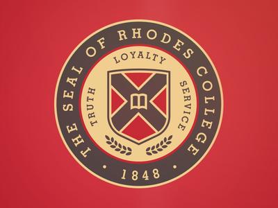 Rhodes College Seal