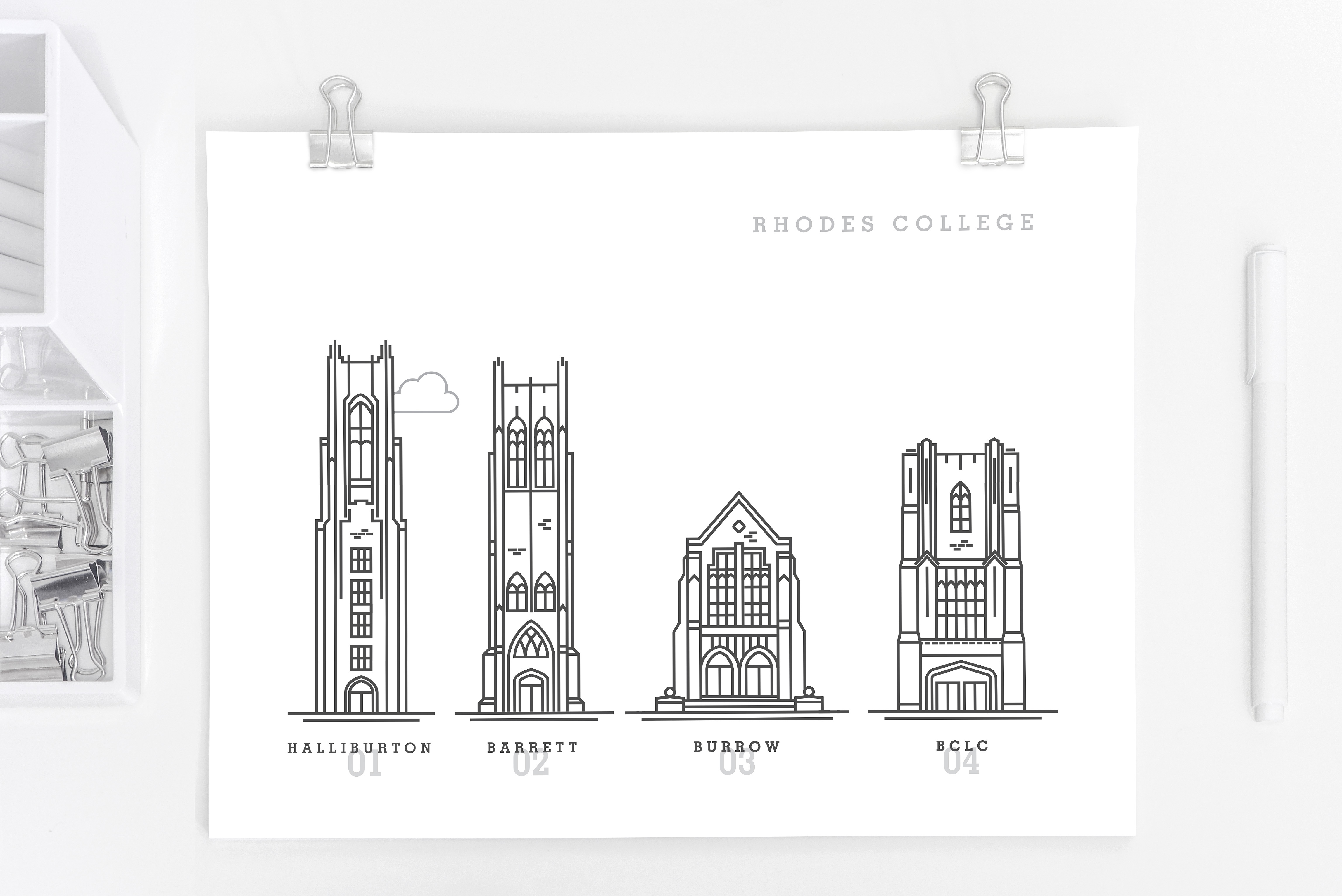 Rhodes bldgs mockup