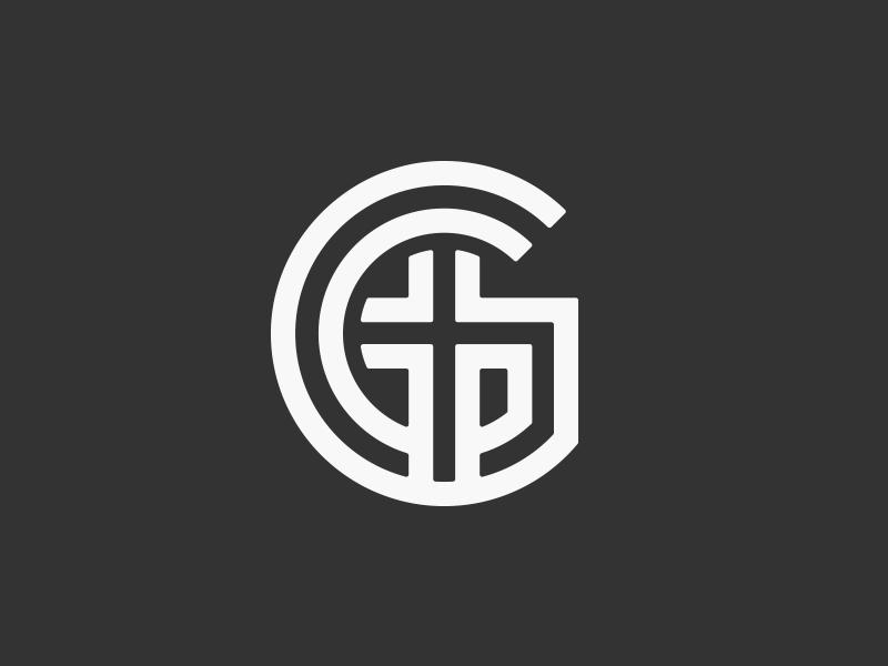 Church mark g cross parallel logo logomark church