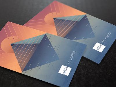 Cards Against Designers - Memphis aiga grunge illustration pyramid memphis cards