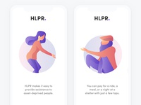 HLPR Onboarding Illustrations