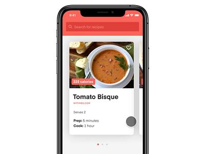 Meal Planner App Concept product design invisionstudio app interaction design ux design ui design ui