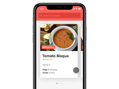 Meal Planner App Concept