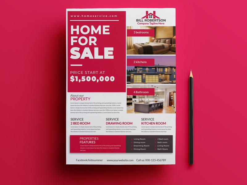 Real Estate & Property Flyer Template ui kids camp event agency home house commercial interior design flyer design flyer flyer templates free psd download advertisement agent real estate agency property flyer template property flyer real estate