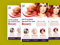 Beauty Spa Flyer design