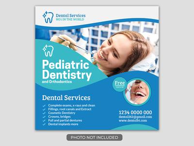 Denta Healthcare Social Media Post Template