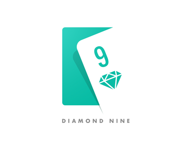 Diamond Nine Logo design logo