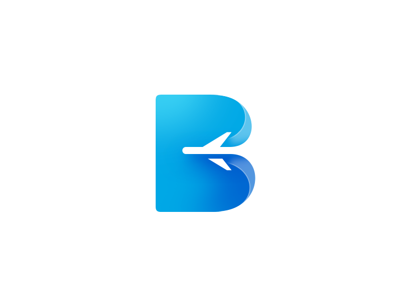 B logo logo app icon