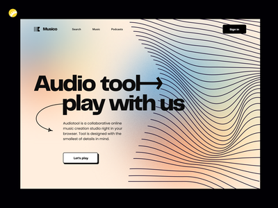 Music collaboration tool design concept tool synergy audio studio sharing vibes melodies sounds creation tunesmiths inspiring aspiring creative music design concept web ux design ui