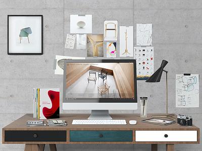 Mock-up Creator / Hero Desktop sketch responsive screen devices web design preview app smart desktop hero creator