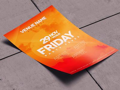 A4 Mockup print preview party design display cv brochure flyer poster mockup a4