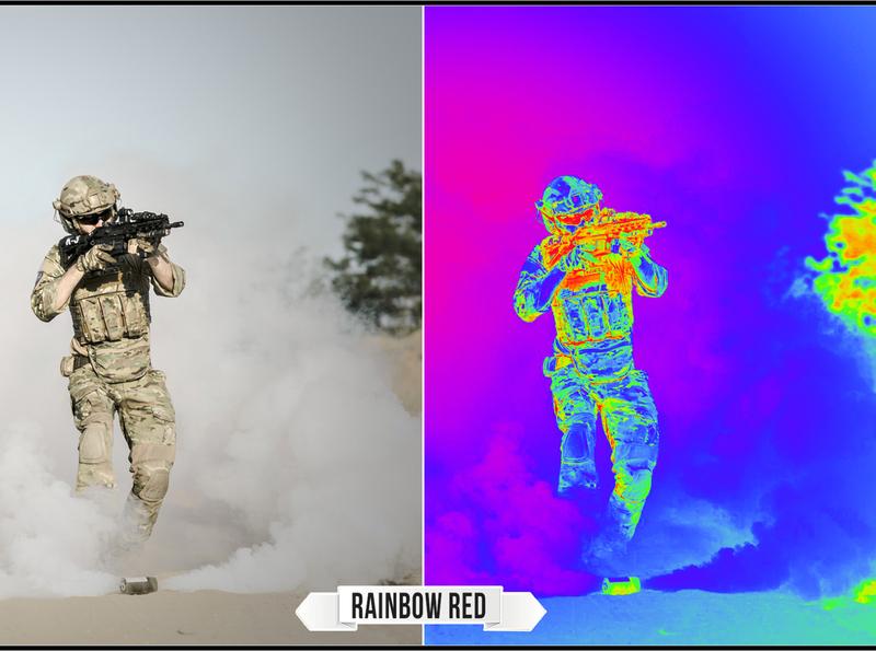 Rainbow Go-Round LUTs