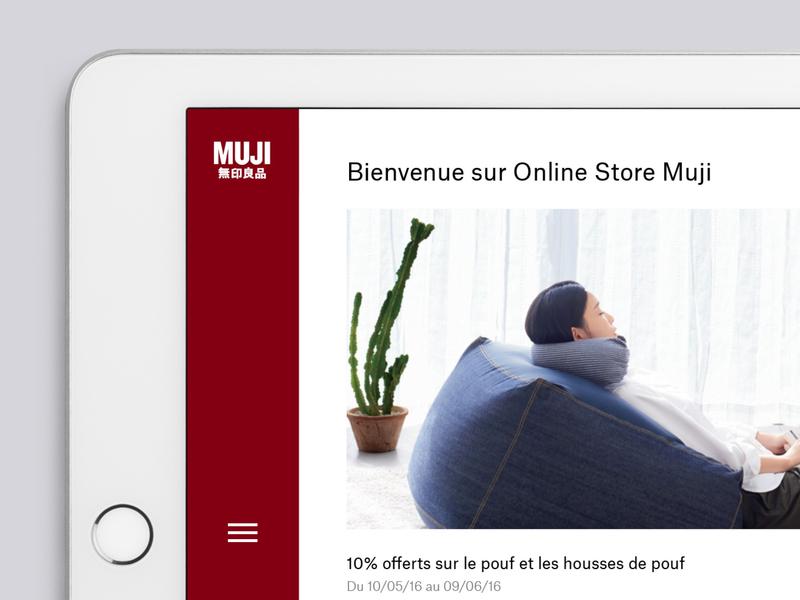 Muji menu online store muji