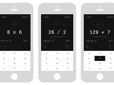 Mental Math ios game app maths