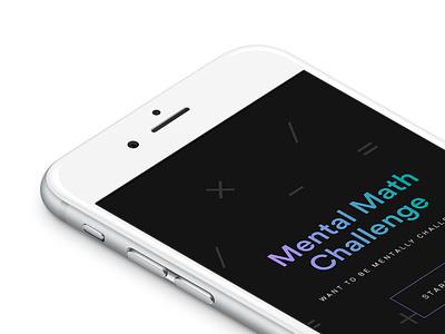 Mental Math Challenge game calculate maths mathematics ios app math