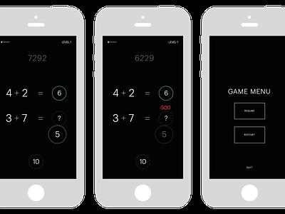 Pure Math ios game calculate maths