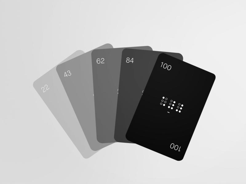 "Jeu 100 cartes ""Braille edition"" numbers black  white black 100 braille carte jeu"