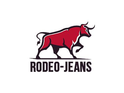 Rodeo-Jeans Logo jeans rodeo redbull bull logotype logo