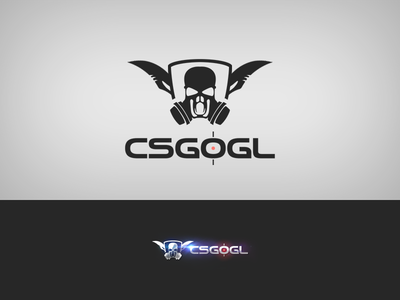 CSGO logo gun shooter game logotype logo csgo cs