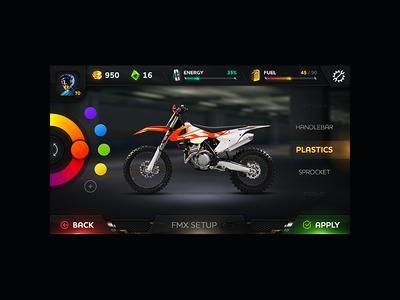 TiMX Mobile Game Ui