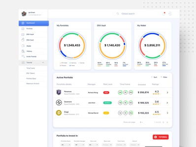 Crypto Curreny Dashboard app ux uidesign light cryptocurrency dashboad