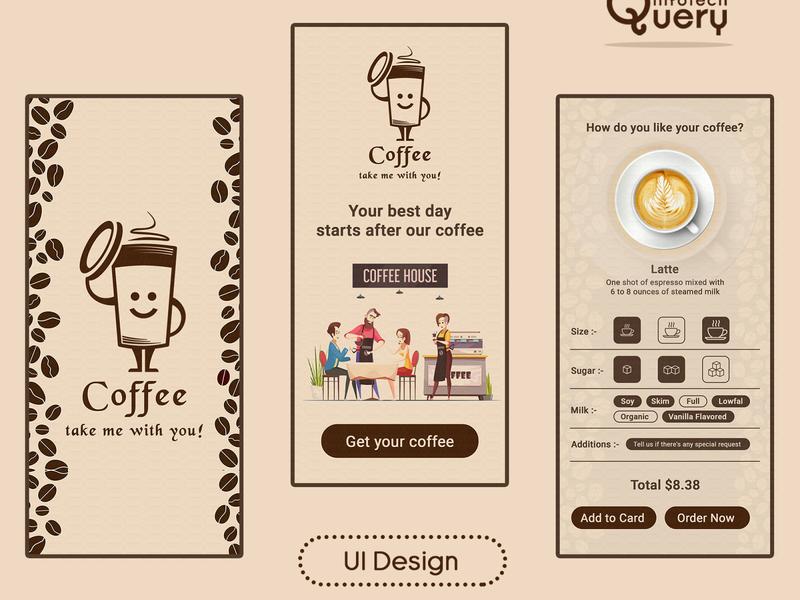 Coffee UI Design