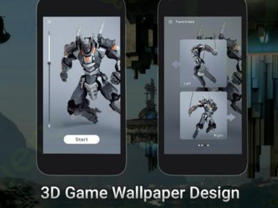 3D Game UI Design