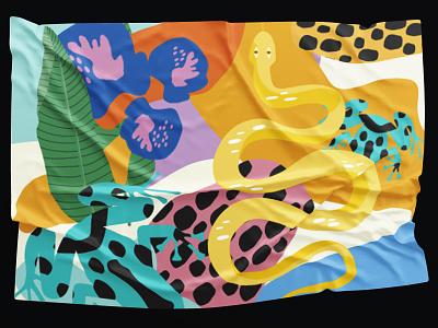 Amazonia _Pattern_Design pattern a day digitalart selva amazonia animals colors patternart illustration pattern design design pattern