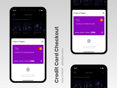 Credit Card Checkout // DailyUI 002