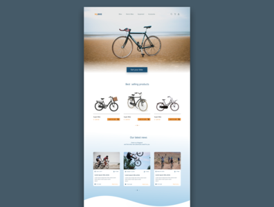 Bike Website